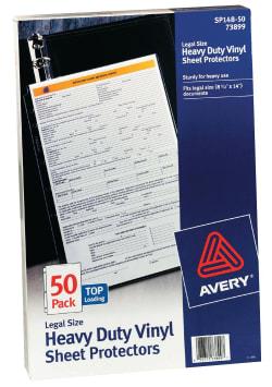 Avery heavy duty vinyl size sheet protectors 50 protectors 73899 avery heavy duty vinyl size sheet protectors legal size 50 protectors 73899 colourmoves