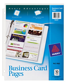 Avery business card pages 200 card slots 76009 avery media1 colourmoves