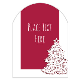 Free christmas labels and holiday printables avery 3 x 2 14 arched labels solutioingenieria Images