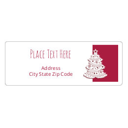Free christmas labels and holiday printables avery 1 x 2 58 address labels solutioingenieria Images