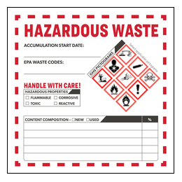 graphic regarding Free Printable Hazardous Waste Labels named UltraDuty GHS Chemical Labels Predesign Templates