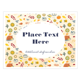 customizable thanksgiving templates