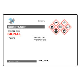 UltraDuty GHS Chemical Labels Predesign Templates | Avery com