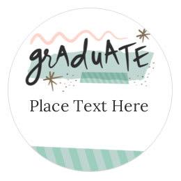 Averycom - Graduation name cards template