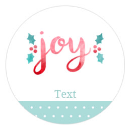 Free christmas labels and holiday printables avery 2 12 round labels pronofoot35fo Gallery