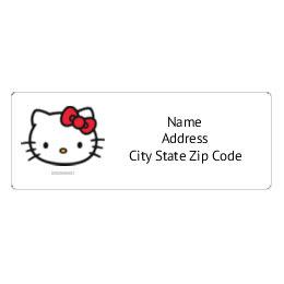 customizable hello kitty printable templates avery com