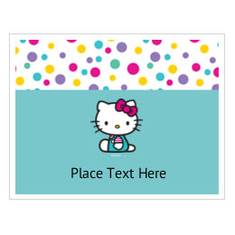 91075ecf5 Customizable Hello Kitty Printable Templates | Avery.com