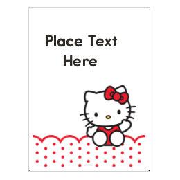 948264f3c Customizable Hello Kitty Printable Templates | Avery.com