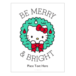 picture about Kitty Printable known as Customizable Hi there Kitty Printable Templates