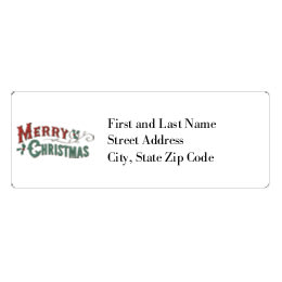 christmas labels avery 5160