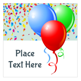 image regarding Free Printable Birthday Labels identified as Free of charge Themed Birthday Printables