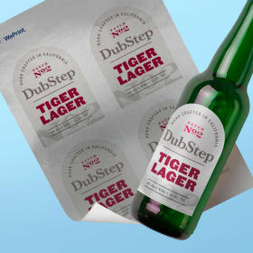 "photo about Printable Beer Bottle Labels identified as Arched Labels by means of Avery WePrintâ""¢"