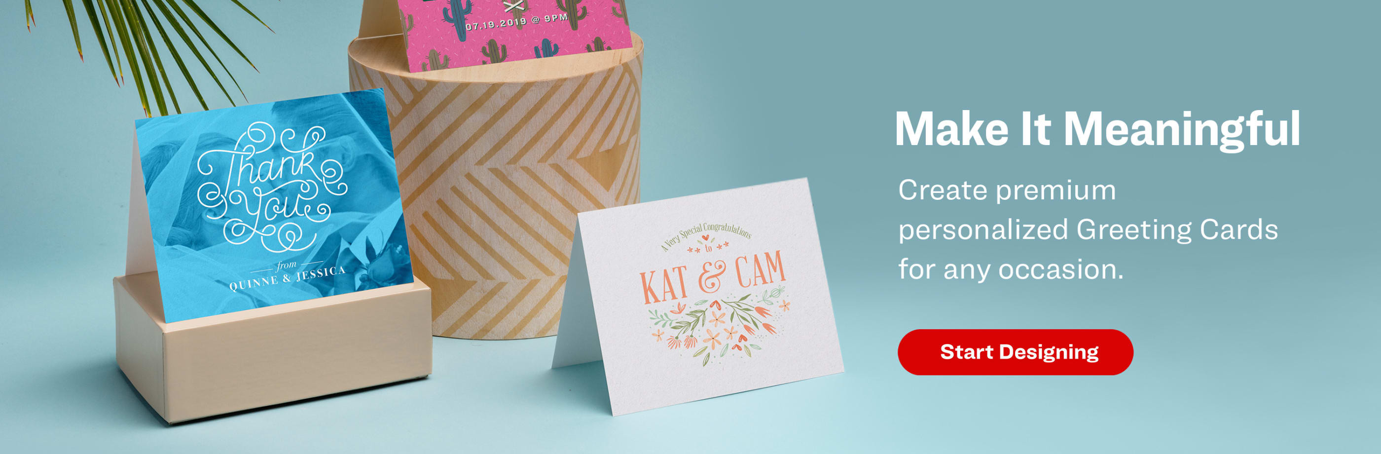 Make It Meaningful. Create premium personalized greeting cards for any occasion.