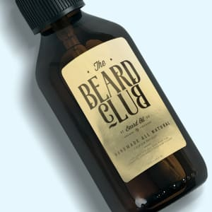 Beard Oil Labels