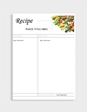 organize and personalize your recipes avery com