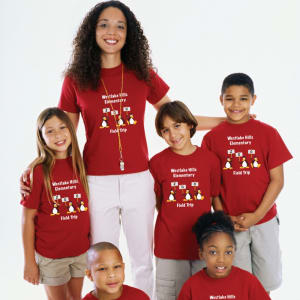 Create a Close-Knit Family with Matching T-Shirts