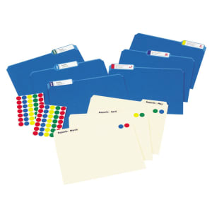 Create a Color-Coded or Chronological Filing System