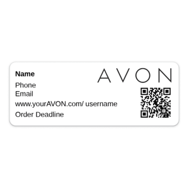 Avon With Avery Business-Building Tools Avery.com