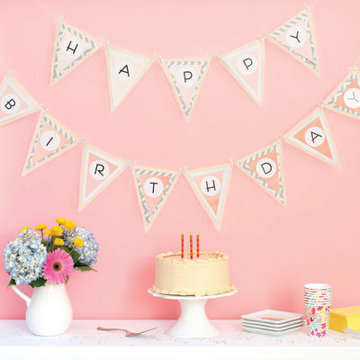 Create a Personalized Party Garland