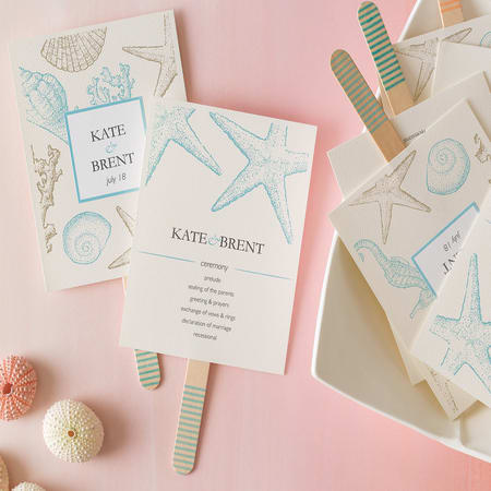 create your own wedding programs