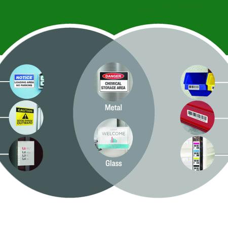 surface safe label comparison chart infographic