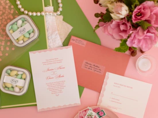 labels for your suite of wedding stationery at one time design print lets you apply your same design to all your different products letting you get