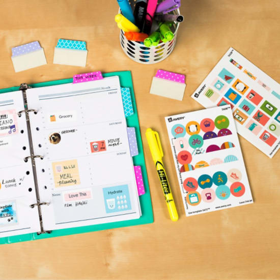 Design and print your own planner stickers