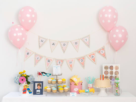 1 Decorate Your Event With A Party Garland