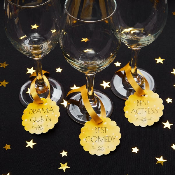 award party drink markers