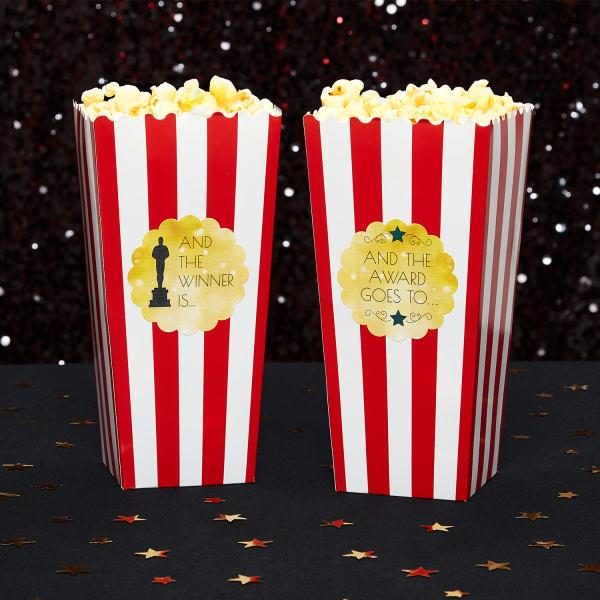 awards party popcorn