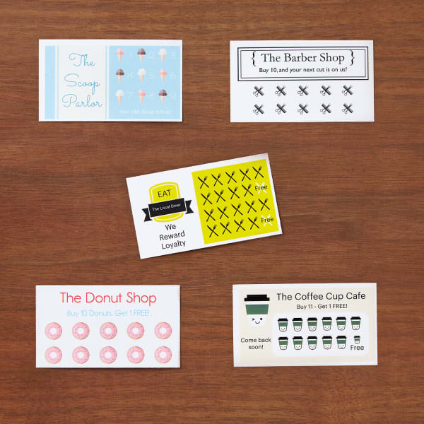 Build A Loyalty Program With Punch Cards Avery Com