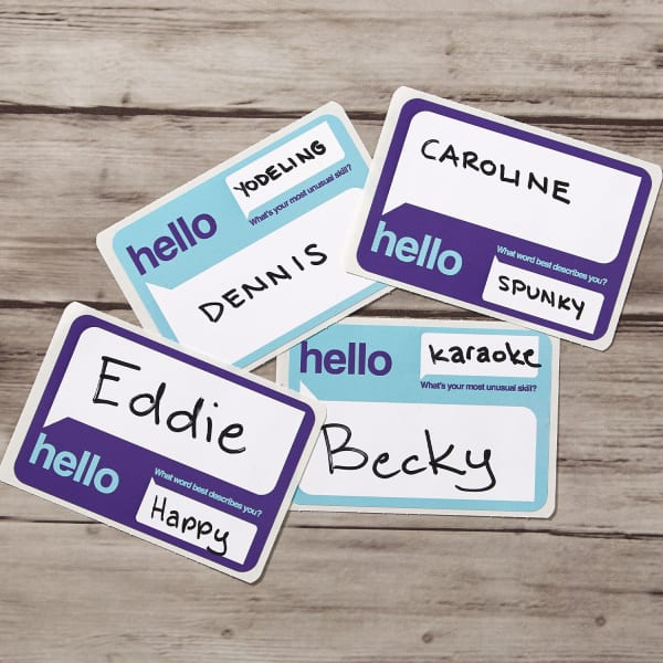 The Best Custom Name Tags for Your Next Event | Avery com