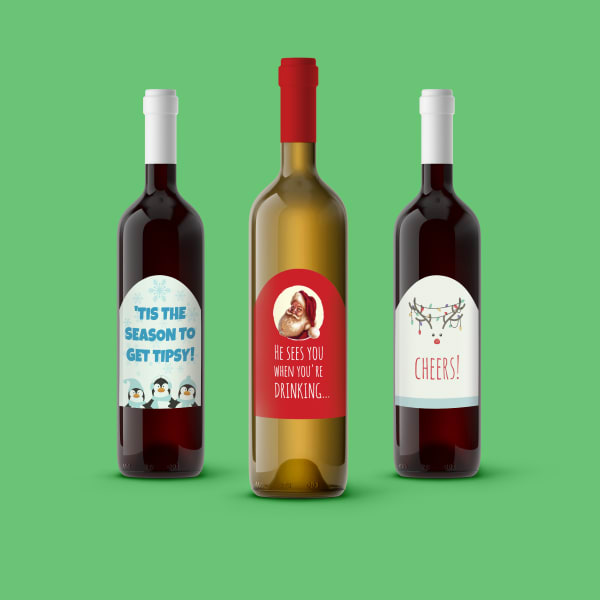 do it yourself white elephant gifts wine