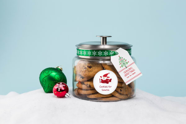 DIY Gift Ideas for Holiday Parties Cookie Jar