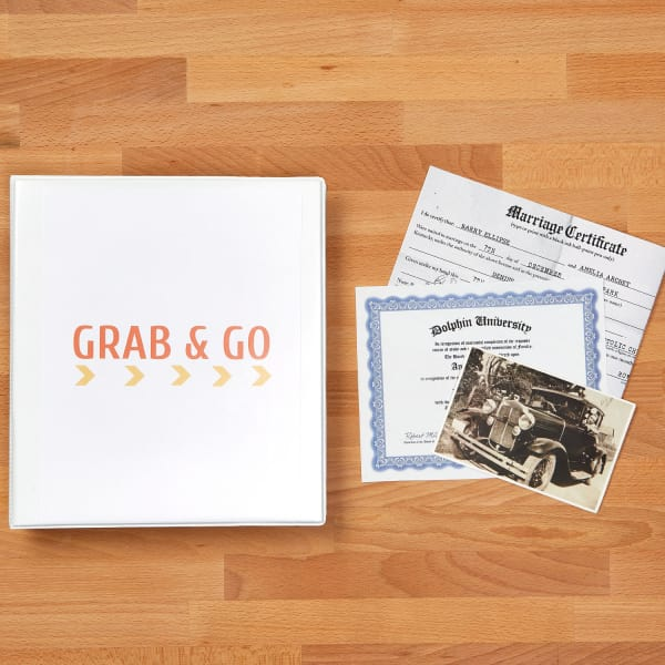 Grab and Go Binder