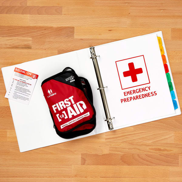 Emergency Preparedness and First Aid Binder