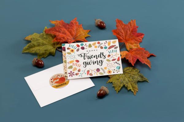 Happy Friendsgiving Cards