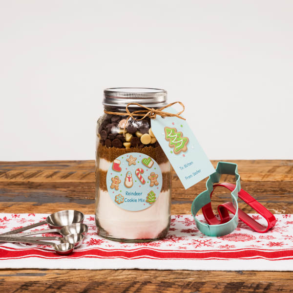 unique jar gifts cookie mix