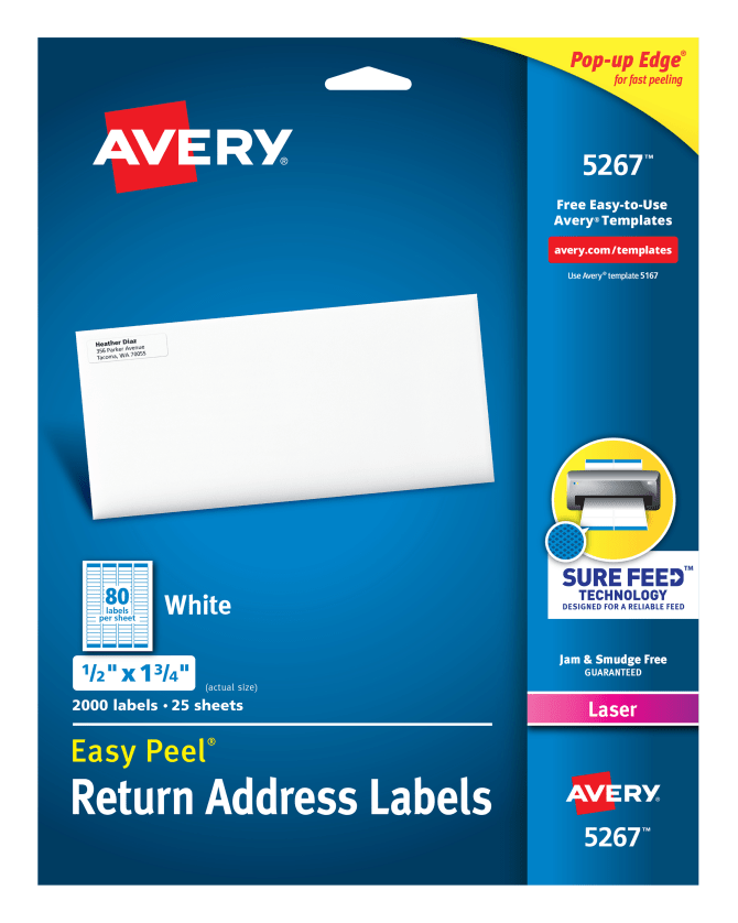 Avery easy peel return address labels 12 x 1 34 2000 labels avery easy peel return address labels 12 x 1 34 2000 labels 5267 avery maxwellsz