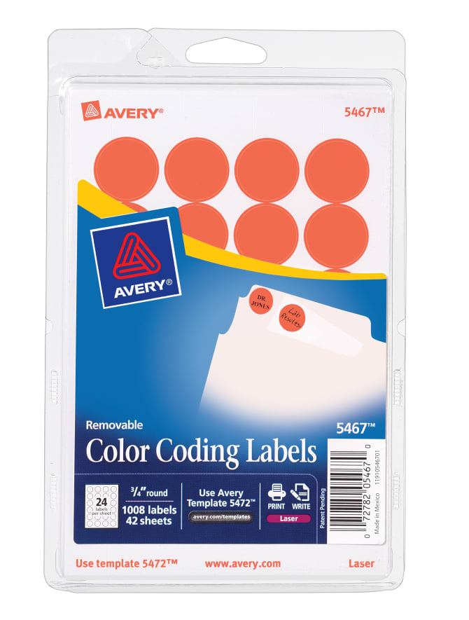 avery 5961 template