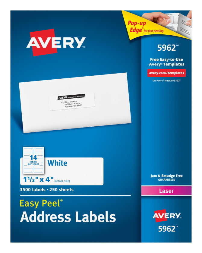 avery 5962 template