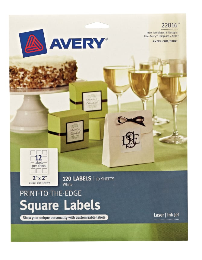 Products Container Labels Avery