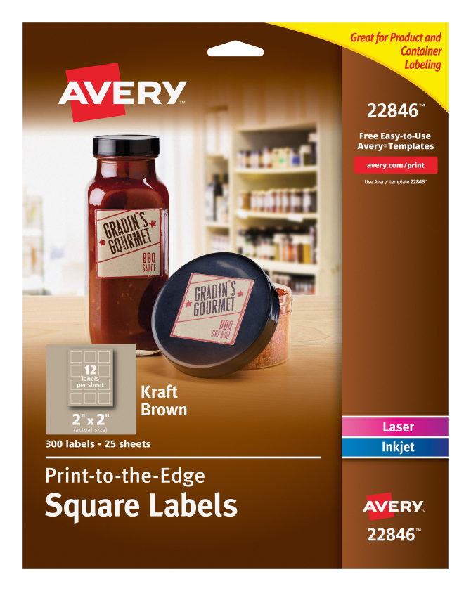 avery square labels permanent adhesive 2 x 2 300 labels 22846 avery com