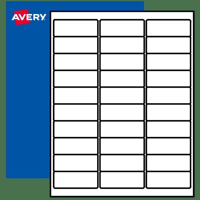Printable Amazon Fba Labels Barcodes Fnsku Avery