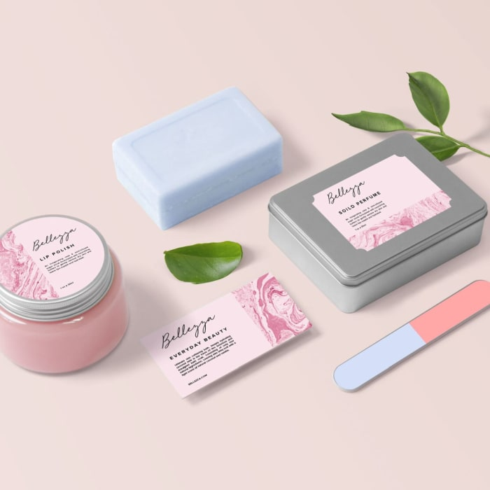 Custom Cosmetic Labels Stickers