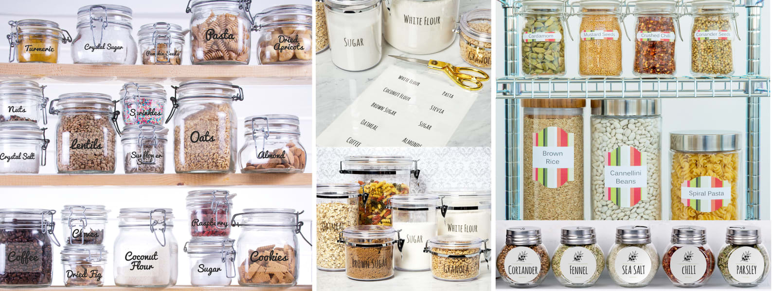 7 Essential Pantry Organization Ideas For The Insta Worthy Kitchen Of Your Dreams Avery Com