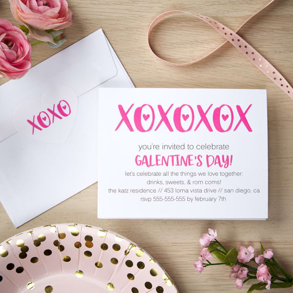 Diy Cards Labels Tags For Your Galentine S Day Party Avery Com