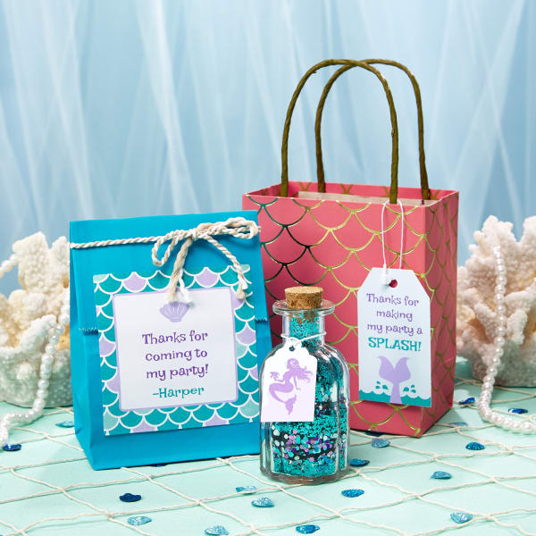 how to set up a beautiful mermaid party