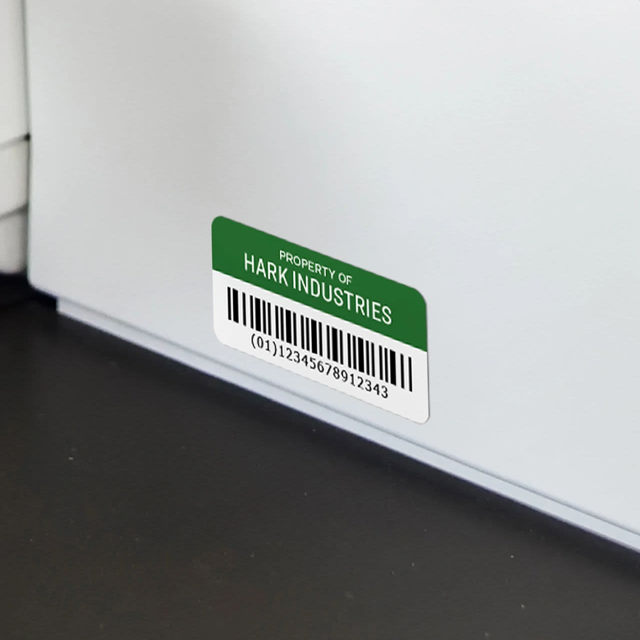 White Film with Surface Safe Adhesive (waterproof) - Sheet Labels