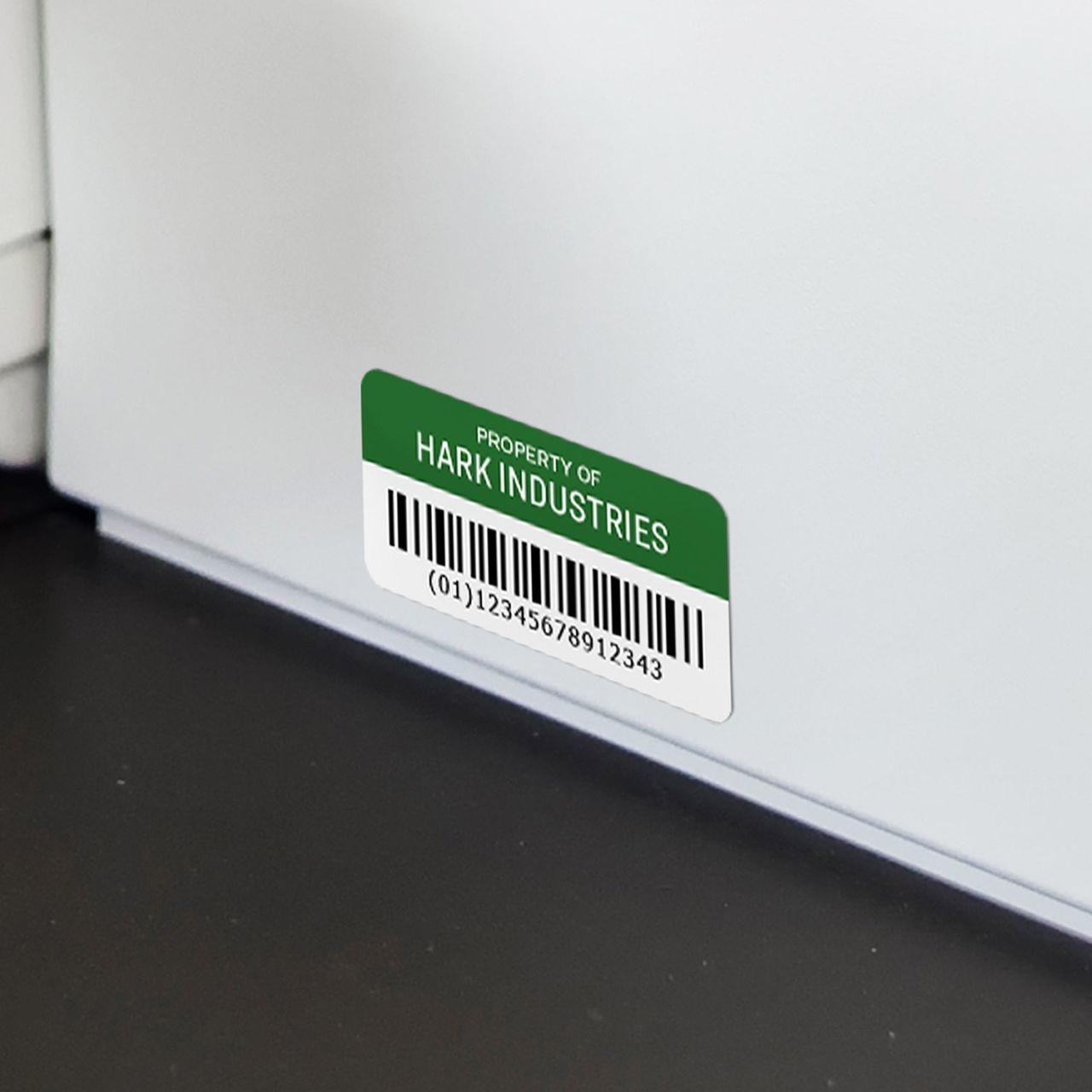 White Film with Surface Safe Adhesive - Sheet Labels